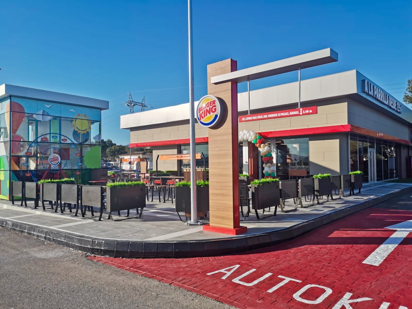 Burger King abre un nuevo local en Palma de Mayorca