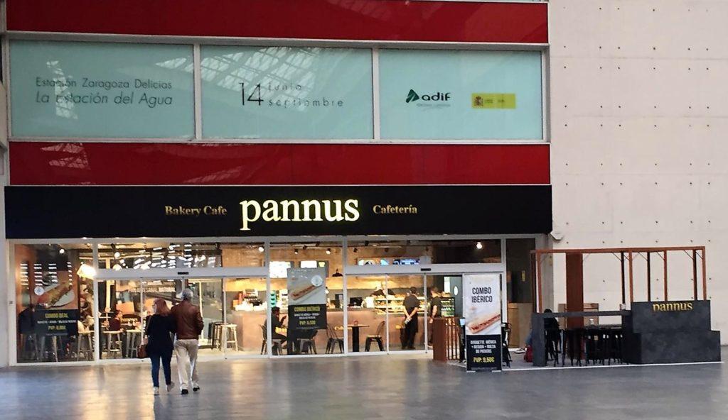 Imagen Pannus en la estación del AVE de Zaragoza