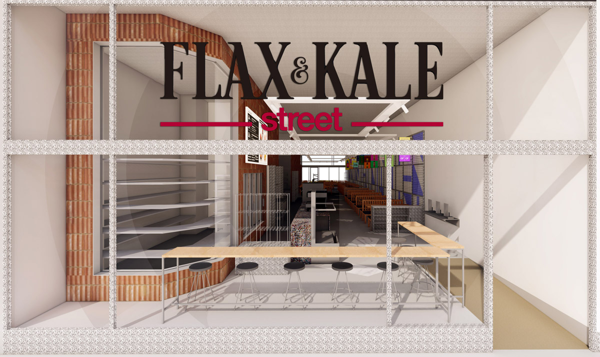 Flax and Kale Street, nuevo formato de healthy fast casual en Madrid.