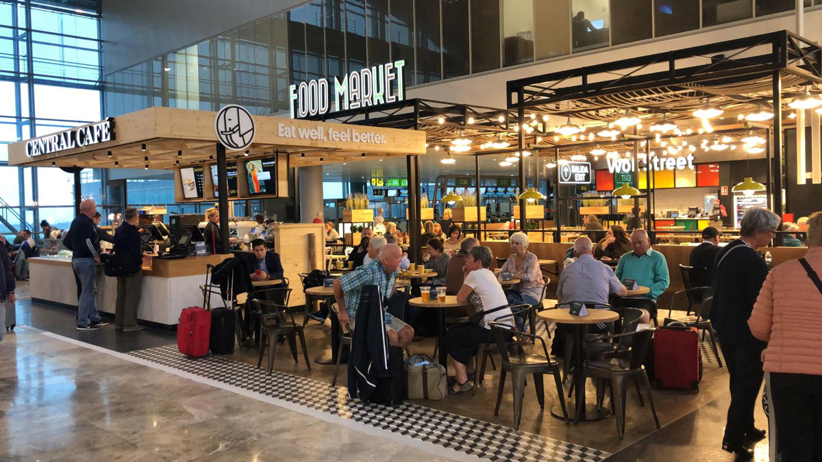 Food Market de Eat Out Group en Alicante.
