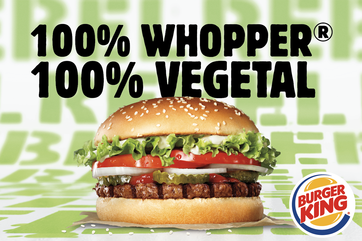 Rebel Whopper, la nueva hamburguesa vegetal de Burger King.