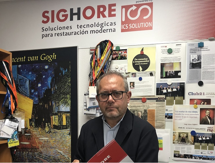 Jorge G. Juárez, director general de Sighore-ICS.